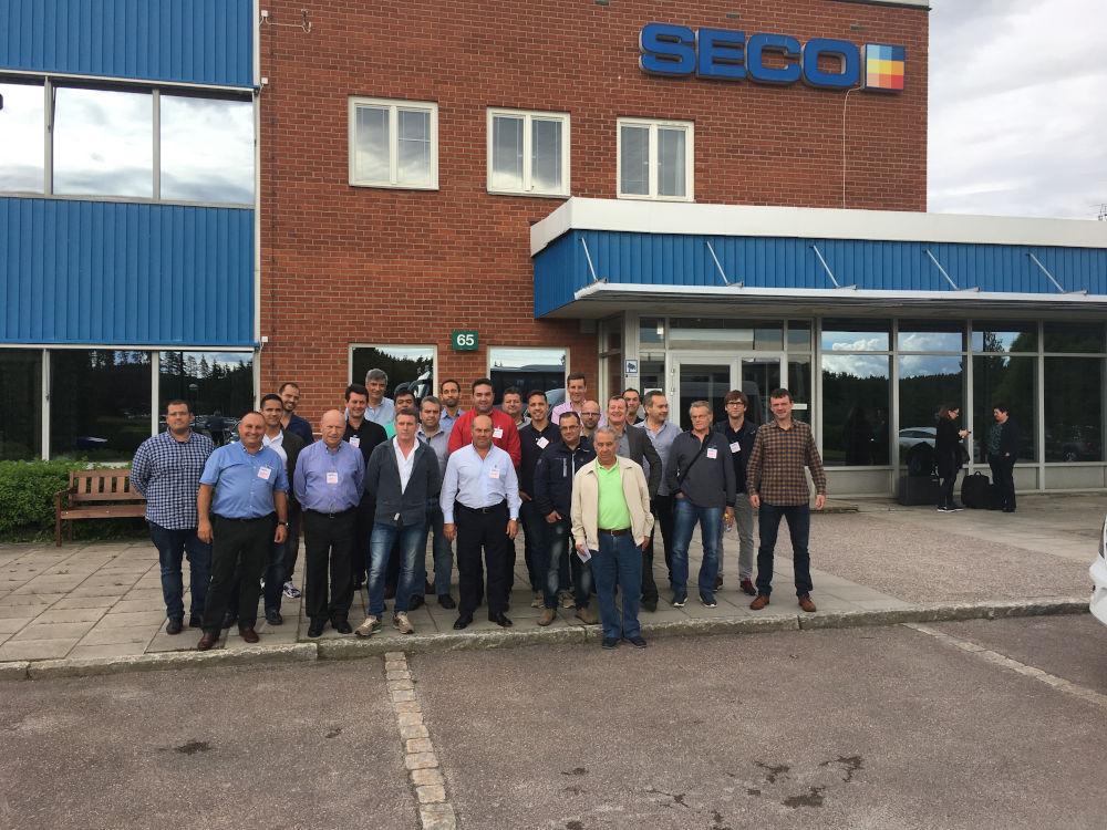 Viaje a Suecia para visitar la fábrica de Seco (proveedor Herramientas)